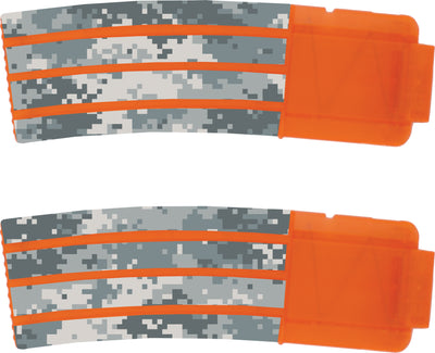 Camo Collection - Nerf Banana Magazine 15-Round Custom Skins & Wraps (2-pack)
