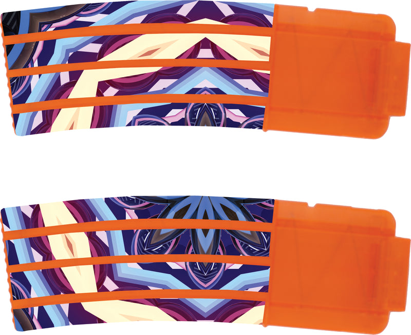 Tribal Collection - Nerf Banana Magazine 15-Round Custom Skins & Wraps (2-pack)