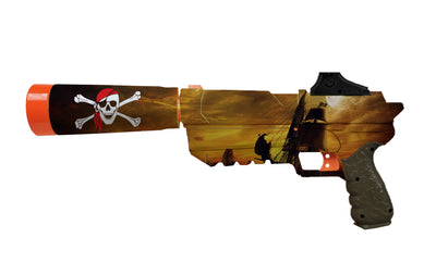Pirate Collection - Nerf Fortnite Sp-L Custom Skins & Wraps