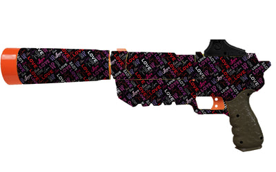 Valentines Collection - Nerf Fortnite Sp-L Custom Skins & Wraps