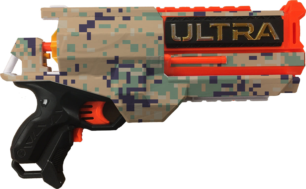 Camo Collection - Nerf Ultra 2 Custom Skins & Wraps