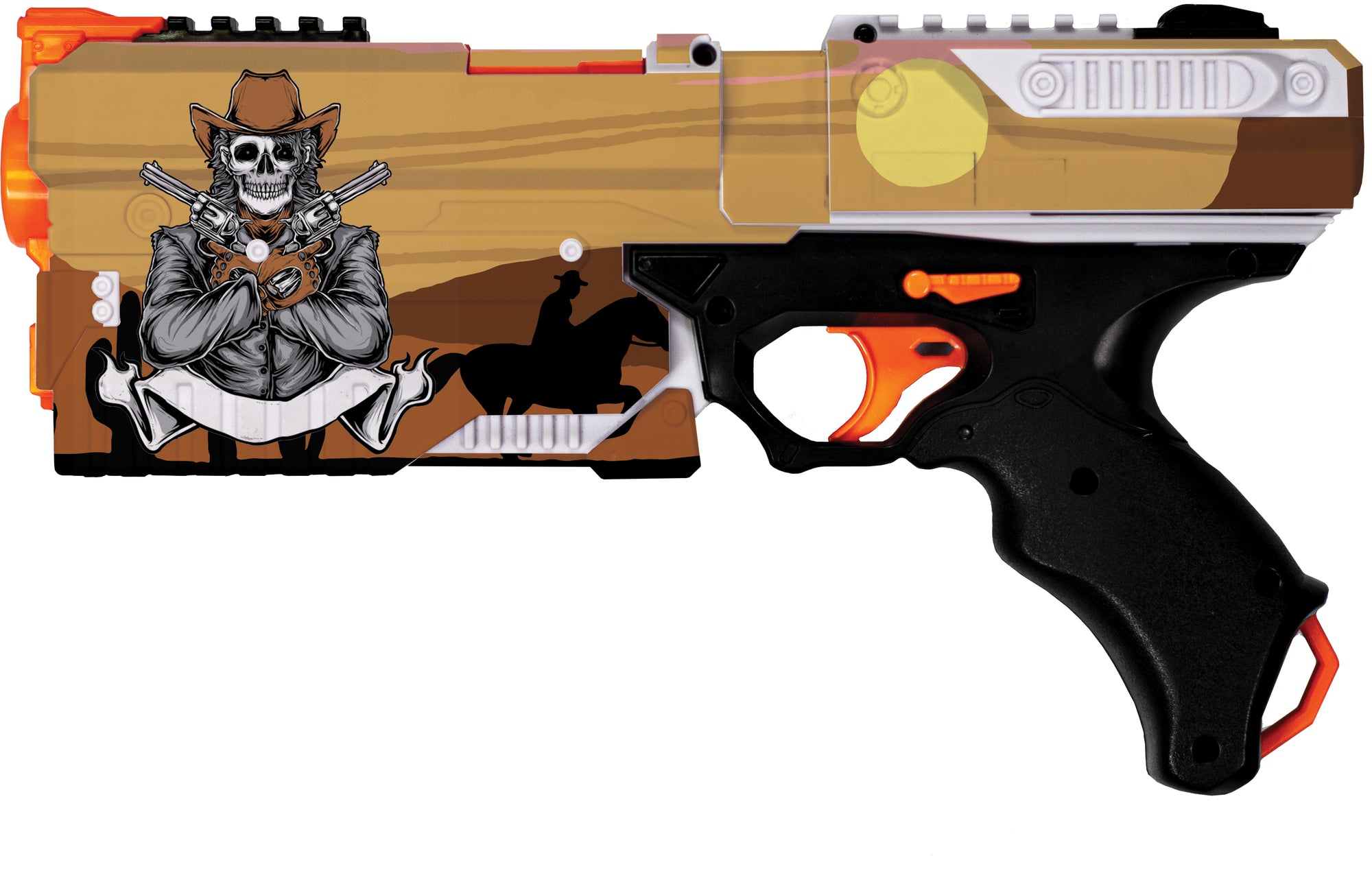 Cowboy Collection- Nerf Kronos Custom Skins & Wrapz
