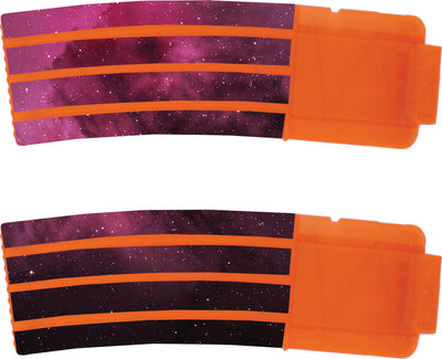 Space Collection - Nerf Banana Magazine 15-Round Custom Skins & Wraps (2-pack)