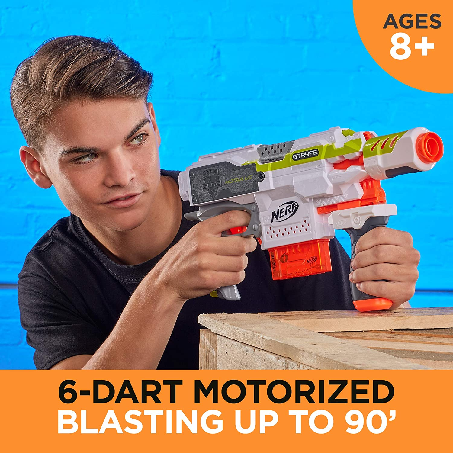 NERF Stryfe Motorized Toy Blaster