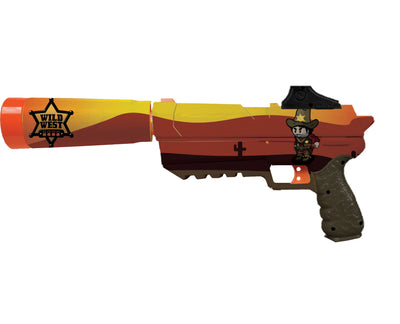 Cowboy Collection - Nerf Fortnite Sp-L Custom Skins & Wraps