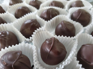 Brandy Raspberry Truffles
