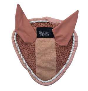 Fly Bonnet Glitter Sparkles Rose Gold