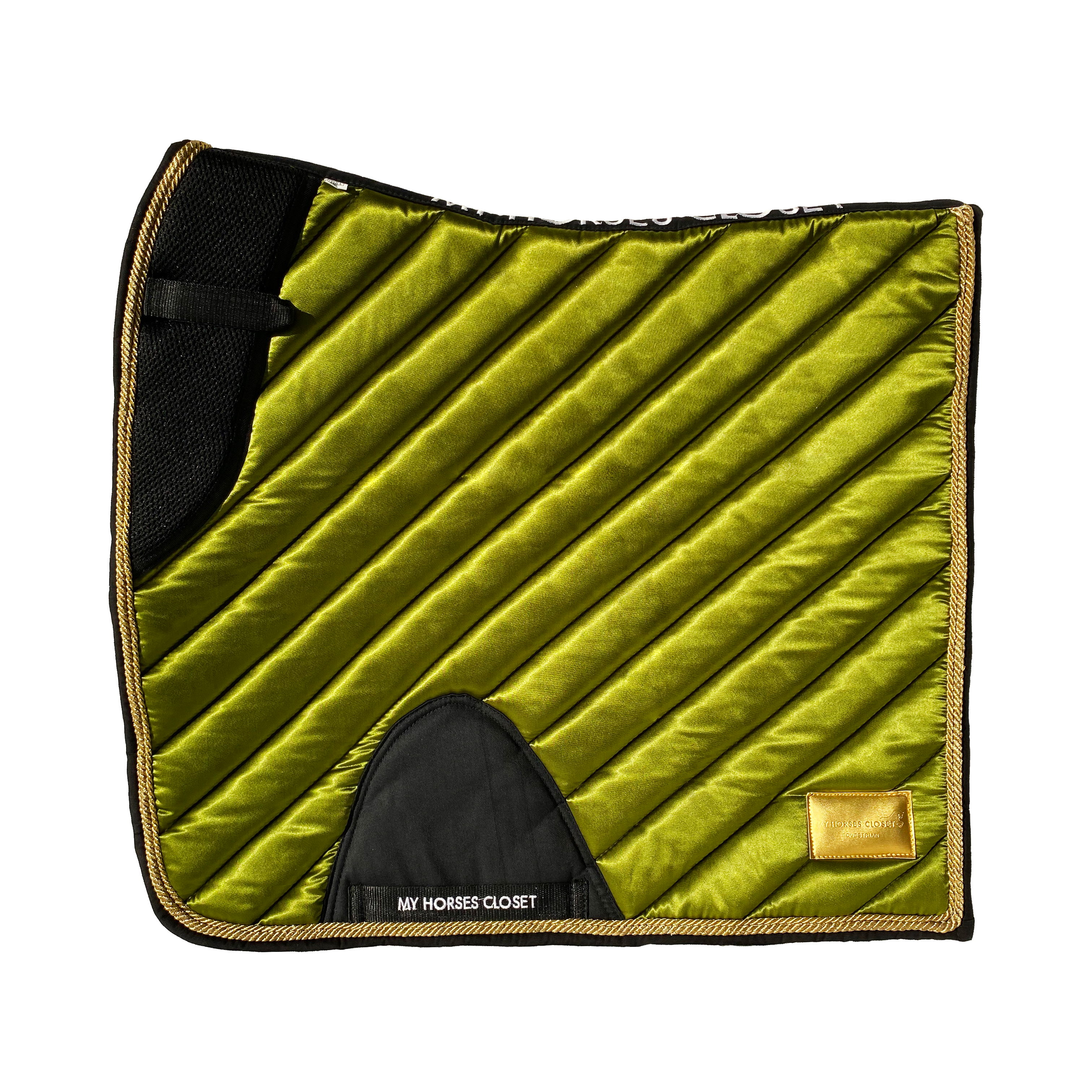 Dressage Saddle Pad Amboise Olive Green