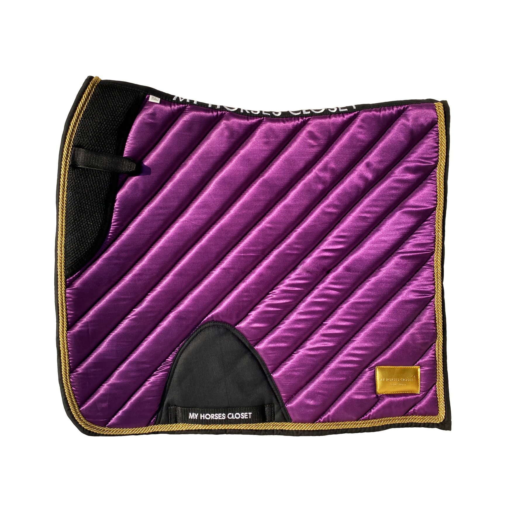 Amboise Dressage Set 1 Purple Satin Mesh