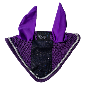 Fly Bonnet Glitter Sparkles Plum Purple