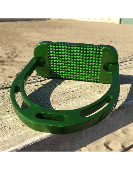 Alu Stirrups Design Set - Hunter Green Metallic