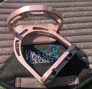 Alu Stirrups Design Set - Rose Gold Metallic