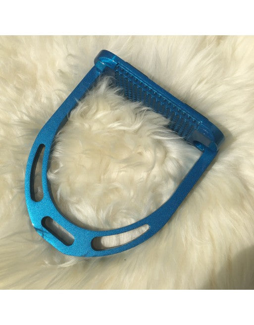 Alu Stirrups Design Set - Turquoise Metallic