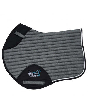 👋 Retiring -Glitter Sparkly Jumping Saddle Pad Charcoal Grey
