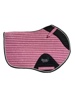 Saddle Pad - Sparkles and Glitter - Jumping/AP - Pink