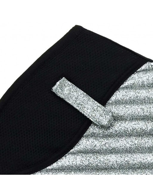 Saddle Pad - Sparkles and Glitter - Jumping/AP - Silver