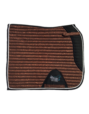 Saddle Pad - Sparkles & Glitter - Dressage - Copper Brown