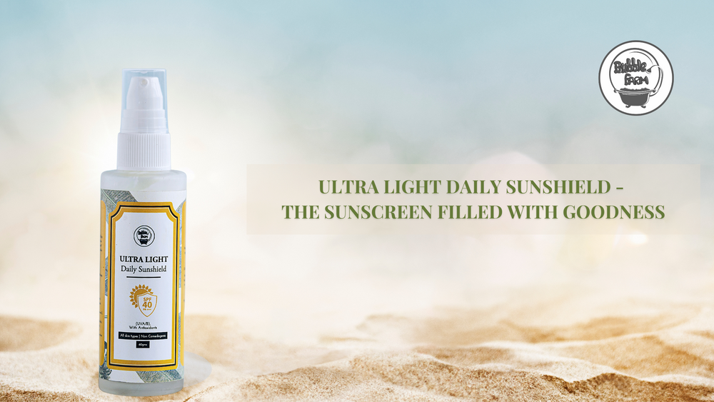 Ultra Light Sun Shield - The Sunscreen Filled With Goodness