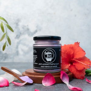 Anti-ageing Purple Clay and Hibiscus Mask
