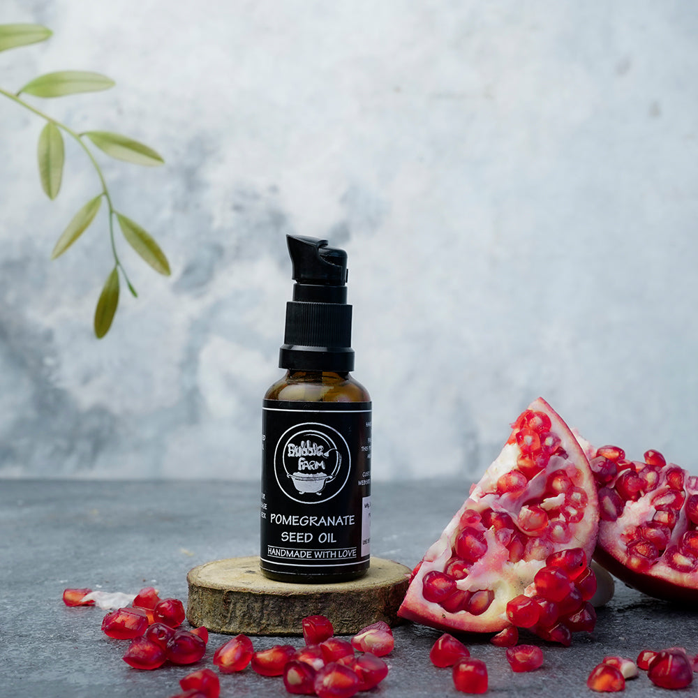Cold pressed pomegranate seed oil