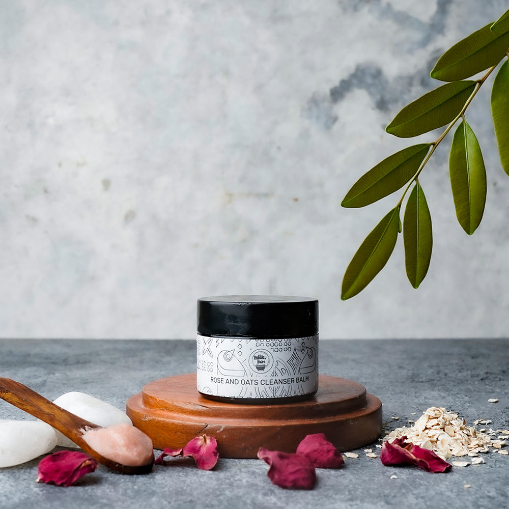 Rose and Oats Cleansing Balm