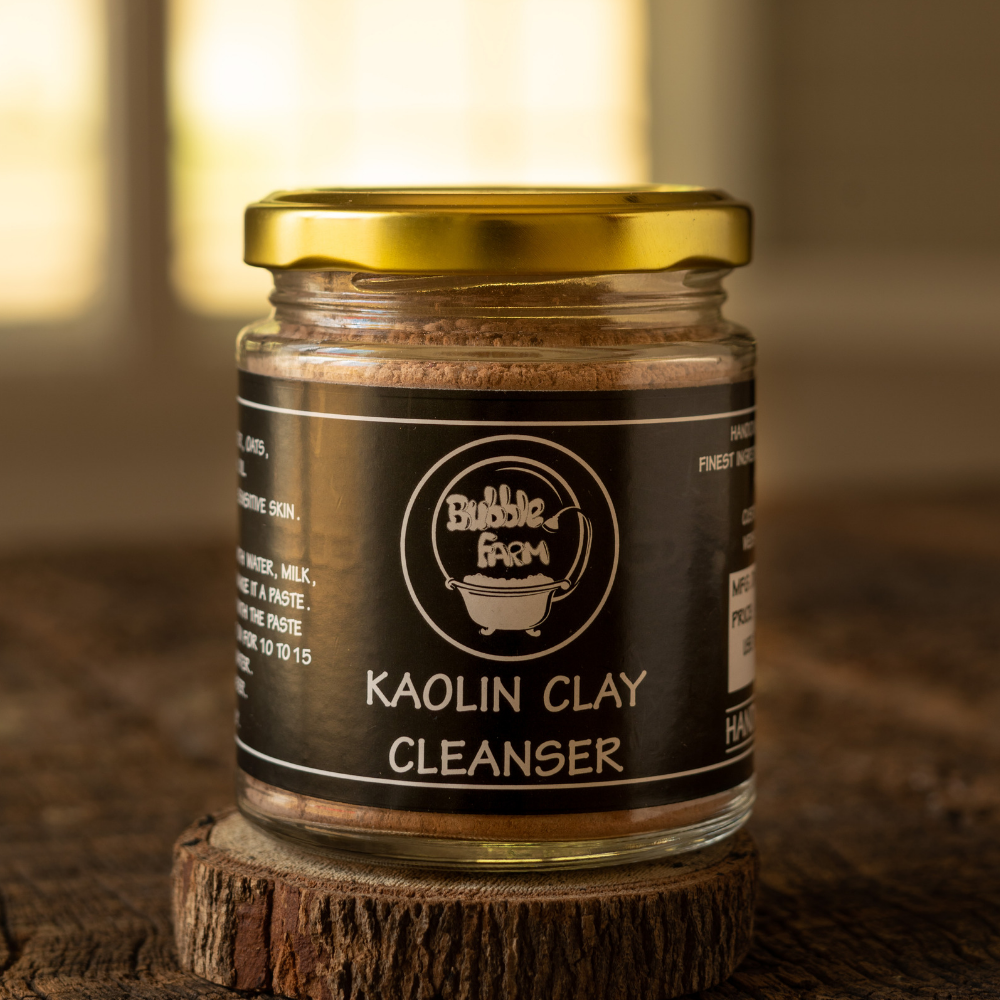 Kaolin Clay Cleanser and Mask