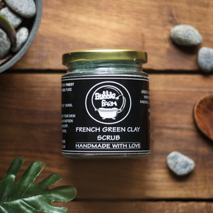 French Green Clay Face and Body Scrub