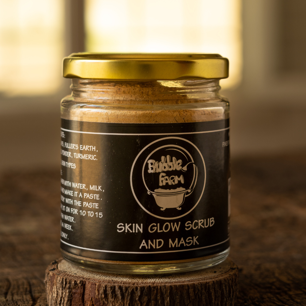 Multani Skin Glow Face Scrub and Mask