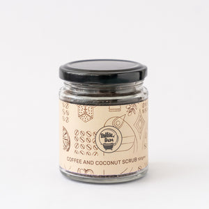 Coffee and Coconut Face and Body Scrub