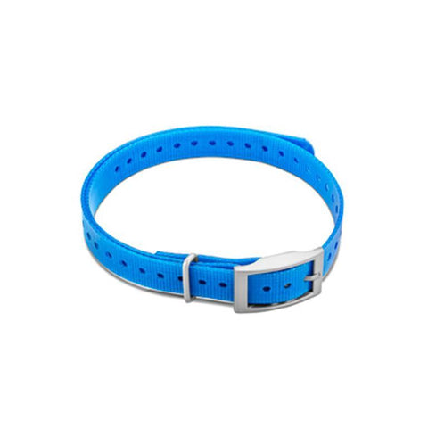 "Garmin 3/4"" Square Buckle Collar Strap - Blue"