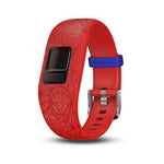 Garmin Accy Bands (Strap Only), vivofit jr2, Adjustable, Spider-Man, Red