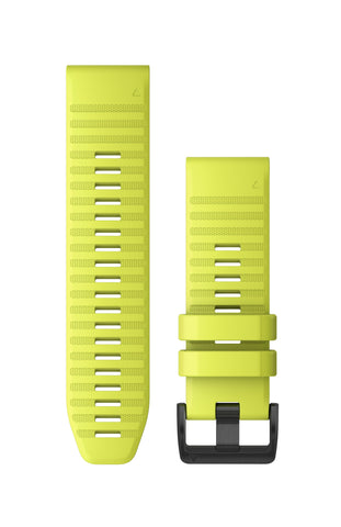 Garmin QuickFit 26 Amp Yellow Silicone