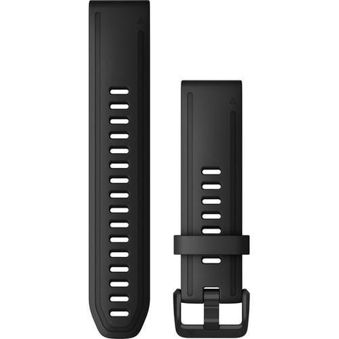 Garmin QuickFit 20 Black Silicone