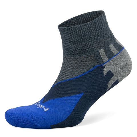 Balega Enduro V-Tech Quarter Socks, Charcoal