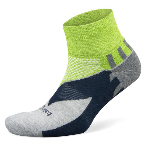 Balega Enduro V-Tech Quarter Socks, Green