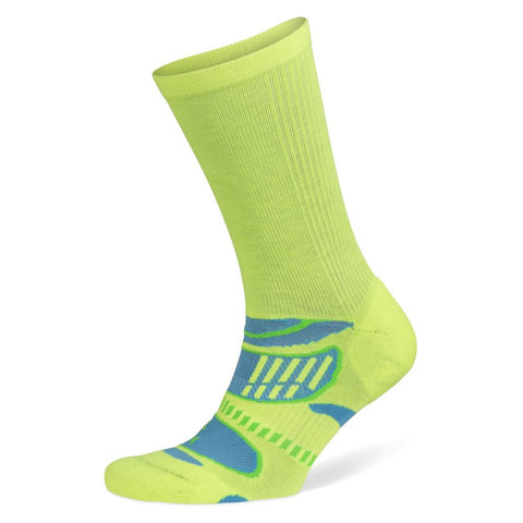 Balega Ultralight Crew Socks, Neon Lime