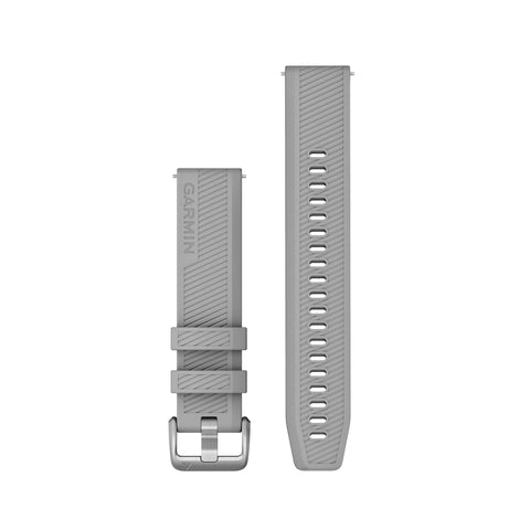 Garmin Quick Release Band 20mm - Powder Grey Silicone
