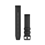 Garmin Quick Release Band 20mm - Black Silicone