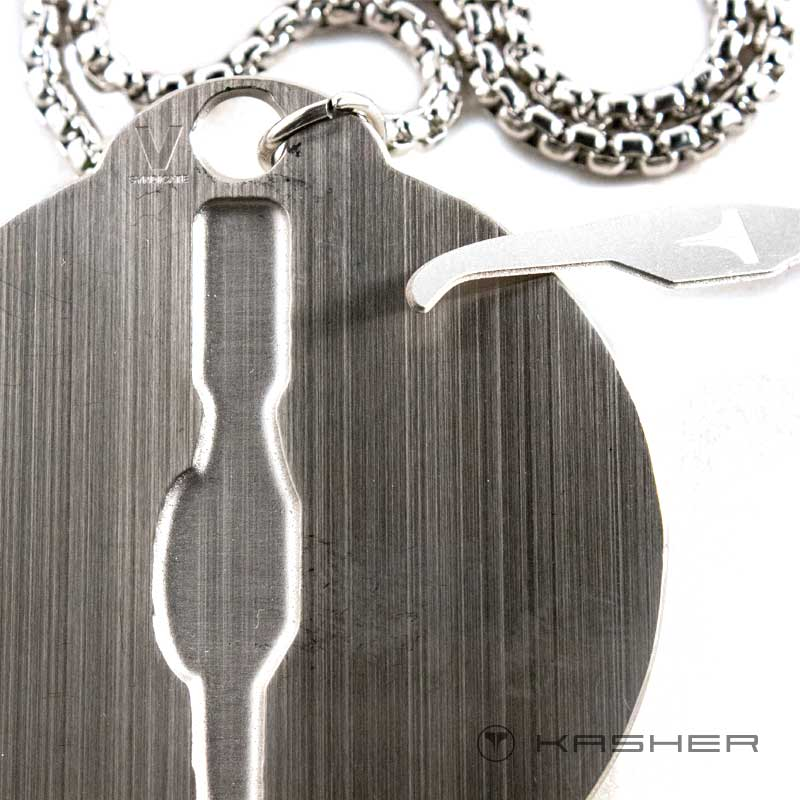 Kasher Dogtag Dabit Card Tool Removed