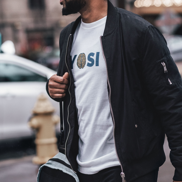 YOSI Flagship - Mens W 100% Organic Cotton T-Shirt