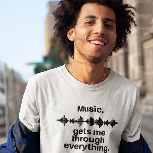 Music Gets Me - Mens B 100% Organic Cotton T-Shirt