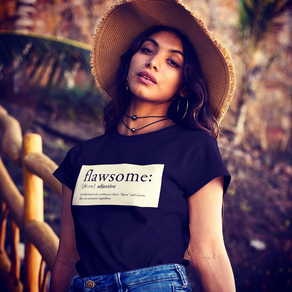 FLAWSOME - Womens B Sustainable T-Shirt