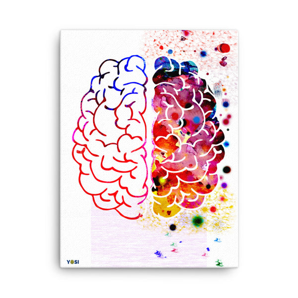 """Creative Thoughts"" Eco-Friendly Canvas Art yosicollective.myshopify.com"