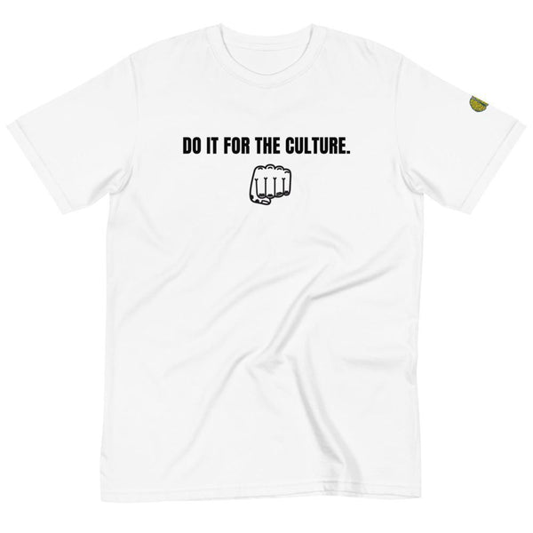 DO IT FOR THE CULTURE Fist - Mens W 100% Organic T-Shirt yosicollective.myshopify.com