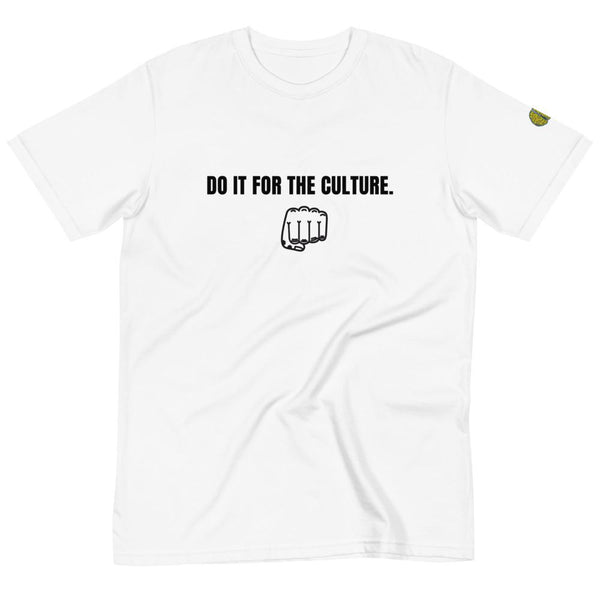 DO IT FOR THE CULTURE Fist - Womens W 100% Organic T-Shirt yosicollective.myshopify.com