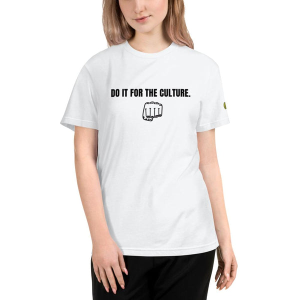 DO IT FOR THE CULTURE Fist - Womens W Sustainable T-Shirt yosicollective.myshopify.com