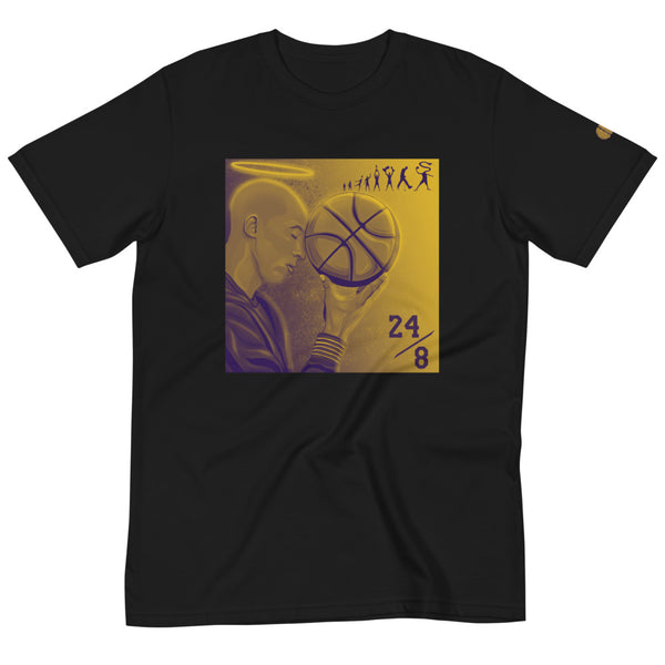 yosicollective,KB 24/8 Legacy - Unisex 100% Certified Organic Cotton T-Shirt