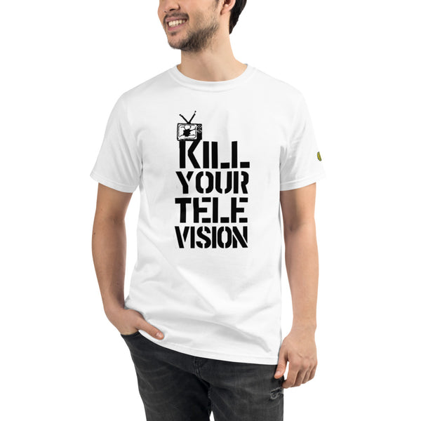 KILL YOUR TV - Mens W 100% Organic T-Shirt yosicollective.myshopify.com