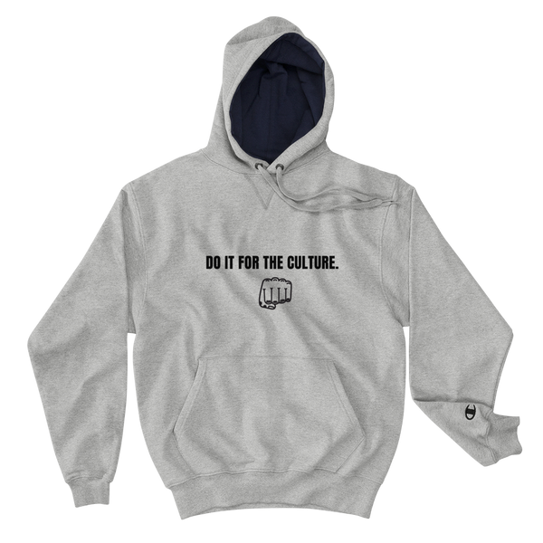 "YOSI x Champion ""Do It For The Culture"" - Unisex Hoodie yosicollective.myshopify.com"