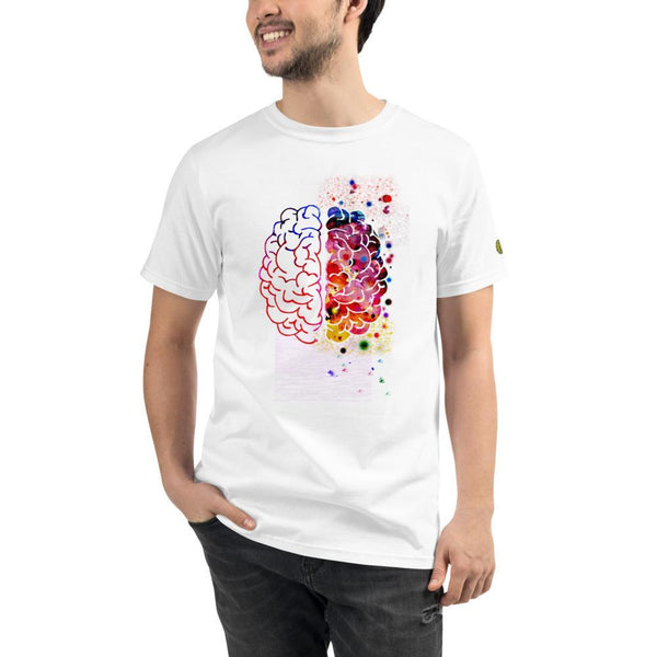 yosicollective,Creative Thoughts Unisex 100% Organic T-Shirt